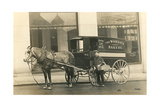 Horse-Drawn Bakery Wagon Prints