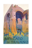 Travel Poster for Rome Prints