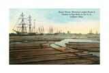 Gulfport, Floating Timber Prints