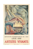 Belgian Arts Poster Poster