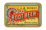 Dickey Root Beer Label Láminas