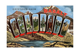 Greetings from Basalt Poster