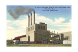 Oak Ridge Powerhouse, Tennessee Print