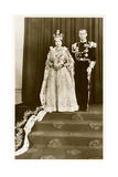 Queen Elizabeth and Prince Philip Print