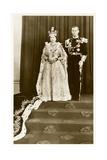 Queen Elizabeth and Prince Philip Print