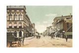 Main Street, Piqua Kunstdrucke