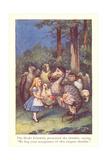 Alice in Wonderland, Caucus Race Posters