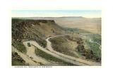 La Bajada Hill, Santa Fe Prints