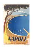 Travel Poster for Naples Prints