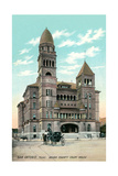 Bexar County Courthouse, San Antonio Posters