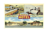 Skyline Motel, Amarillo Prints