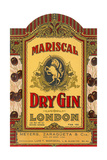 Mariscal Dry Gin Label Prints