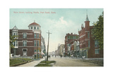 Main Street, Fort Scott Giclée-Premiumdruck