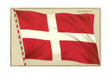 Flag of Denmark Prints