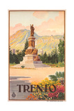 Travel Poster for Trento Prints