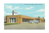 Union Pacific Bus Depot, Cheyenne Reprodukcje