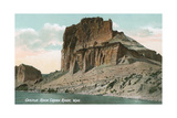 Castle Rock, Wyoming Prints