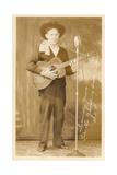 Singing Cowboy Prints