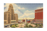 Civic Center, Statler Hotel, Buffalo Art