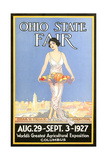 Ohio State Fair Poster, Columbus Stampe