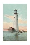 Graves Lighthouse, Boston Harbor Poster