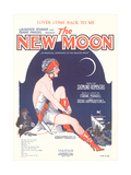 Sheet Music for the New Moon Prints