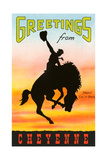 Greetings from Cheyenne Poster