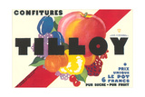 Confitures Tilloy Posters