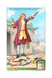 Gulliver's Travels Trade Card Posters
