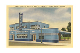 Greyhound Bus Terminal, Ft. Wayne - Reprodüksiyon
