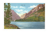 Leigh Lake, Grand Teton Poster