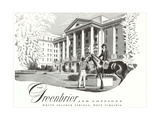Greenbrier Resort, White Sulphur Springs Prints