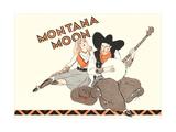 Montana Moon, Banjo, Singer Posters