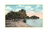 Menominee Park, Oshkosh Print