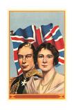 George VI and Elizabeth Poster