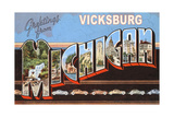 Greetings from Vicksburg Prints