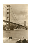 Golden Gate Bridge Premium Giclee Print