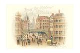 East London Illustration Posters