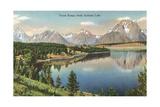 Teton Range, Jackson Lake Plakater