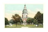 State Capitol Building, Annapolis Prints