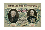 One Hundred Years of Mexican Independence Prints