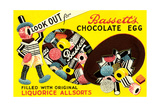 Bassett's Chocolate Egg Poster