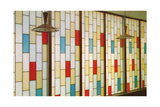 Stain Glass Partition Prints