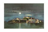Alcatraz by Night Art