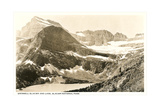 Grinnell Glacier and Lake Poster