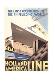 Poster for Holland America Line Poster