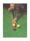 Billiards Player Prints