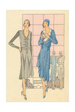 High Fashion Flappers Print