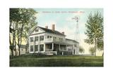 Helen Keller Residence, M Wrentham Prints