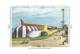 Foods and Agriculture Building, Chicago World Fair Poster
